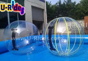 Прозрачный из ПВХ надувные шары воды с прочного молнией