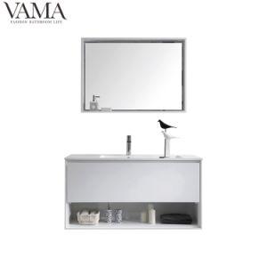 Vama 1000mm de color blanco brillante baño de la vanidad del Gabinete de la base de acrílico con 801100Cuenca una