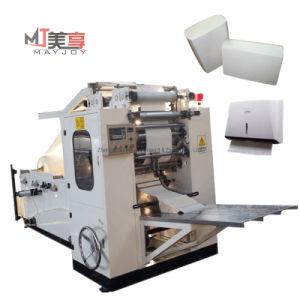 V-dobrado tecido de papel toalha de mão automático fazendo a máquina