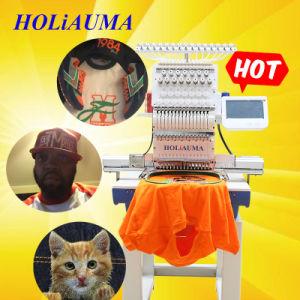 Cabezal único de alta calidad de la máquina de bordar computarizadas Hat con precio competitivo