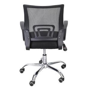 Moderno tecido de malha de metal Pessoal Giratória Computador Manager Cadeira de escritório