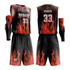2019 Nuevo Diseño personalizado ropa Sportswear de sublimación Dry Fit  Basketball Jersey uniforme para los hombres 8b6847927463a