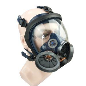En136 de doble goma cartuchos Certificados de seguridad de protección química respirador
