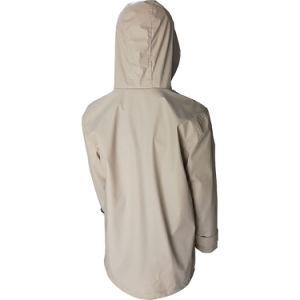 Cuir synthétique Veste de pluie pour les femmes, avec l'eau et résistant avec Linning à garder le corps plus chaud