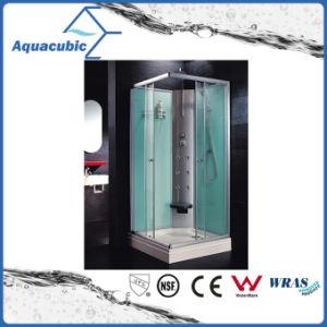 Vidro transparente temperado banho de chuveiro simples (como-TS56)