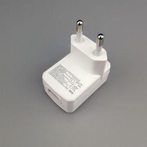 Fingerabdruck USB-Energien-Adapter des Fabrik-Großverkauf-europäischer Stecker-5V 0.8A 4W mit Cer GS-CB Bescheinigung