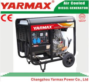 Yarmax 공기에 의하여 냉각되는 디젤 엔진 단 하나 실린더 열린 구조 디젤 엔진 발전기 세트 Genset Ym2500ea