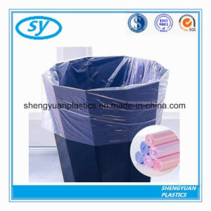 En plastique biodégradable HDPE/LDPE Sacs à ordures