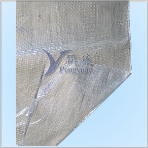 Ткань жары алюминиевой фольги сплетенная отражательная