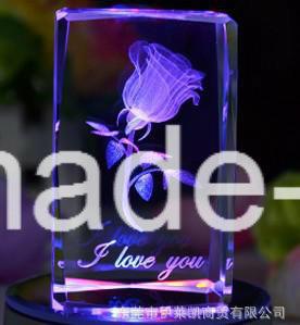Hsgp-4kb 3D Kristallglas-Foto-Laser-Gravierfräsmaschine