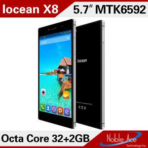 5.7 polegadas gorila FHD Glass3 Tela sensível ao toque de 13 MP 2GB de RAM 32g ROM Iocean X8 Mtk6592 Octa Core telefones Android