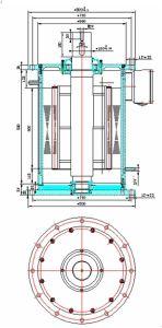 250 kw 200rpm vertical baja velocidad del generador de imanes permanentes