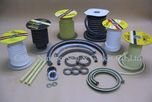 Imballaggio di ghiandola della pompa della fibra di Kevlar Aramid