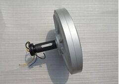 1kw Generator van de Magneet van Coreless de Permanente