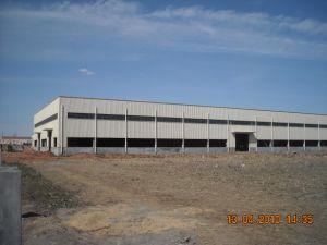 Estructura de acero prefabricados taller de construcción/Almacén