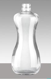 bottiglia di vetro della vodka eccellente del silice 600ml