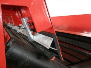 Convoyeur à courroie de pièces Rouleau de revêtement en caoutchouc pour l'exploitation minière