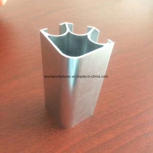 Quadrato, profilo rotondo e differente dell'espulsione della lega di alluminio per il portello e tubo 58 della finestra