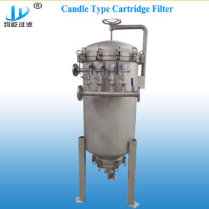 Acero inoxidable filtro vela Selfcleaning automático