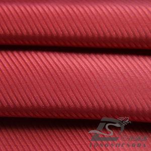 75D 330t Tecidos Jacquard 100% poliéster Sarjado Pongées Fabric (SVCQ53192E)