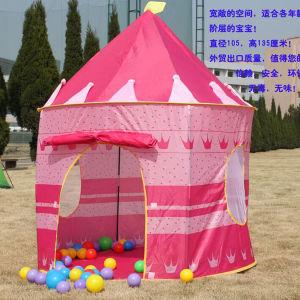 Intérieur / Extérieur le pliage Kid Girl's Pink Princess Château Tente de jeu