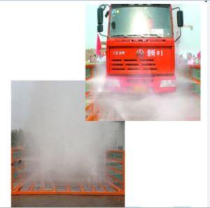 バス車輪の洗浄システムのためのカーウォッシュ