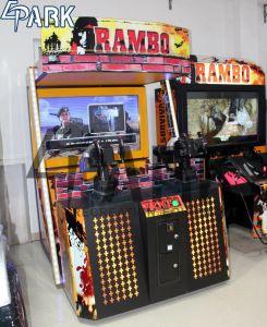 Rambo2 Metralhadora de vídeo filmagem Eletctronic máquina de jogos