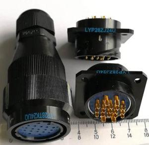 Lyp28シリーズバイオネットカップリングの円コネクター