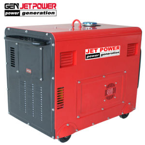 5.5kw 6kVA가 또는 침묵하는 프레임 휴대용 디젤 엔진 발전기 열린다