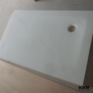 建築材料の衛生製品の人工的な固体表面の石造りのシャワーベース