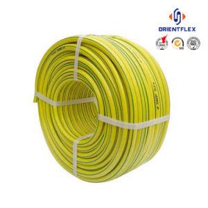 Pijp de Met versterkte vezels van de Tuin van de Slang van de Druppel van de Slang van het Water van pvc van de polyester