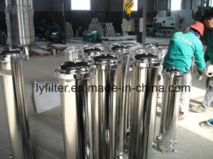 Sistema de RO Caja del filtro de cartucho de acero inoxidable para tratamiento de agua