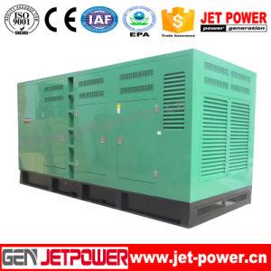 generatore silenzioso raffreddato ad acqua del motore diesel di 500kVA Doosan