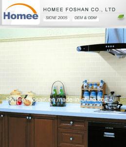 Carreaux de verre mat plat pour la cuisine salle de bain pour la conception de l'intérieur d'accueil