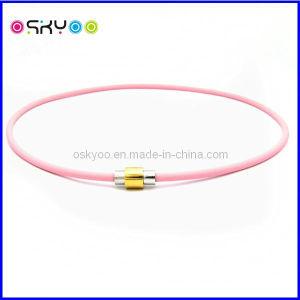 [تيتنيوم] مغنطيسيّة معالجة مجوهرات لأنّ عقد وسوار ([ب075])
