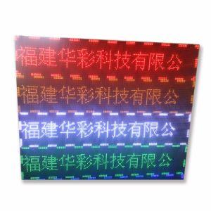 заводская цена на открытом воздухе P10 красный светодиодный дисплей платы по шине CAN