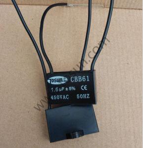エアコン、電気水ポンプのためのCbb61ファンコンデンサー