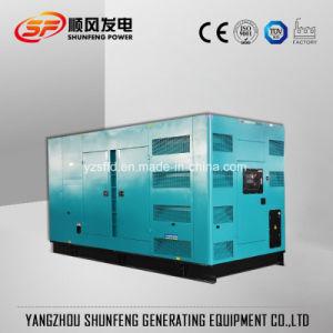 Canopied 500kVA 400kw leise Cummins elektrischer Strom DieselGenset Fabrik