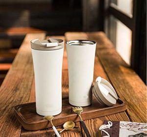 Festival de acero inoxidable aislado de doble pared de taza de café de vacío