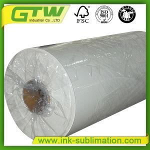 Nova geração de 75 gsm, Papel de sublimação de Secagem Rápida para a impressão de têxteis