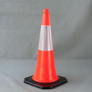 Emiratos Árabes Unidos reflectante estándar de 75cm el precio de los conos de seguridad de tráfico de PE