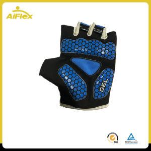 半分指のスリップ防止ゲルのパッドのサイクルの手袋
