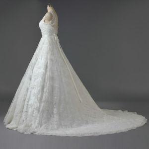 Réservoir de Women's 2019 longue robes de mariée de dentelle pour mariage