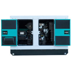고능률 3 단계 16kw 20kVA 침묵하는 다이너모 디젤 발전기