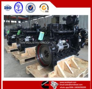 건축 기계를 위한 175-350HP 물 Cummins Qsb6.7 냉각 엔진 사용