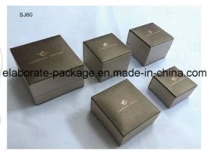 Handmade classique du papier recouvert de plastique Package Jewerllery boîte cadeau personnalisé