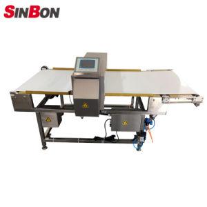 Detector de metales de los alimentos industriales máquina con el menú desplegable Rejector