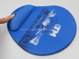 カスタムフルカラーの印刷のシリコーンの手首のマウスパッド