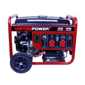 Seule la phase de démarrage électrique 6kw (5kw 7kw 5kVA 6 kVA 7 kVA) de l'essence Portable/Générateur d'alimentation essence