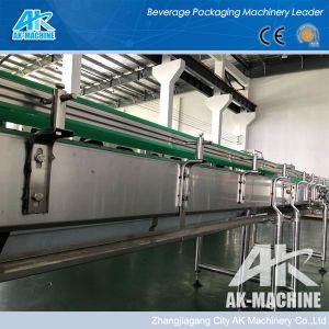 Sistema di trasportatore a rulli di trasporto di plastica automatico del trasportatore del sistema con lubrificazione e la piattaforma dell'acqua e del motore